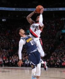 10月24日NBA常规赛 掘金vs开拓者 全场录像